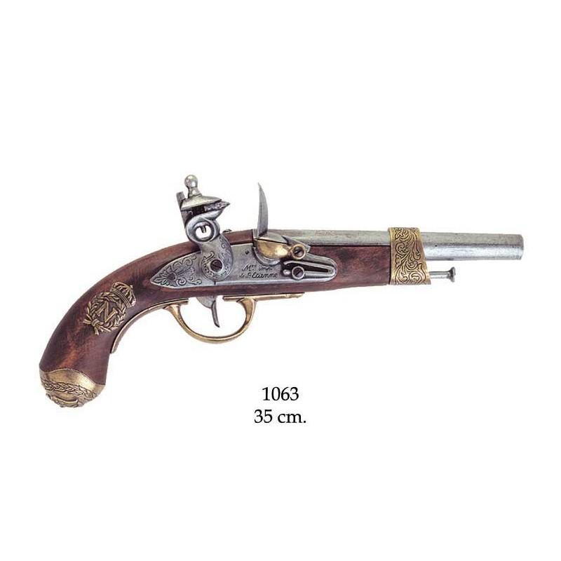 Luger P.08, Německo 1917 s dřevěnou pažbou